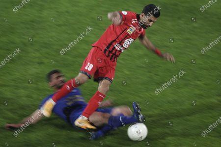 Editorial photo of Esteghlal v Perspolis, 2020/21 Persian Gulf Pro League, Football, Azadi Stadium, Tehran, Iran - 11 Jan 2021