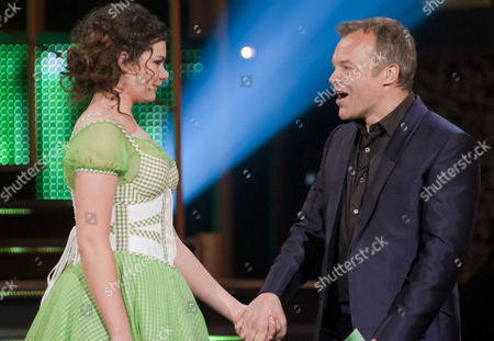 Dani Rayner and Graham Norton.