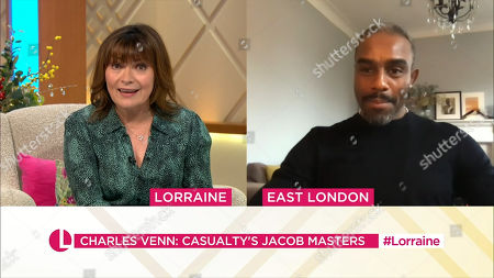 Lorraine Kelly and Chucky Venn