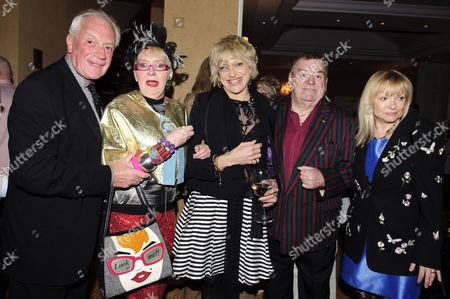 Barry Howard, Su Pollard, Nikki Kelly, Paul Shane and Linda Regan