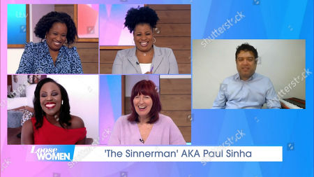 Charlene White, Brenda Edwards, Kelle Bryan, Janet Street-Porter and Paul Sinha