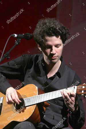 Editorial picture of Federico Aubele in concert, London Palladium, London, Britain - 18 Apr 2010