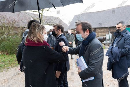 French Ecological and Social Transition Minister Barbara Pompili and French Overseas Minister Sebastien Lecornu.