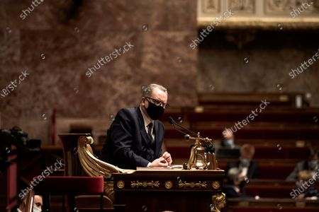 Editorial picture of National Assembly, Questions to the Government, Paris, France - 12 Jan 2021