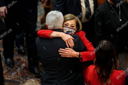 Editorial photo of Condition of the State, Des Moines, United States - 12 Jan 2021