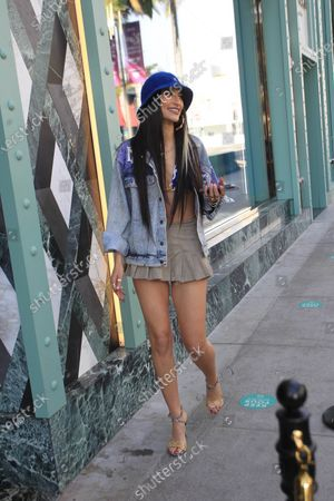 Editorial image of Lexy Panterra out and about, Los Angeles, California, USA - 12 Jan 2021