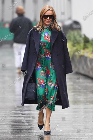 Editorial image of Amanda Holden out and about, London, UK - 13 Jan 2021