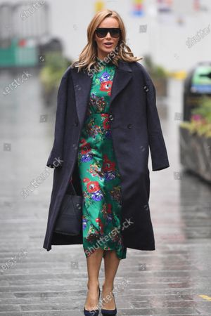 Editorial photo of Amanda Holden out and about, London, UK - 13 Jan 2021