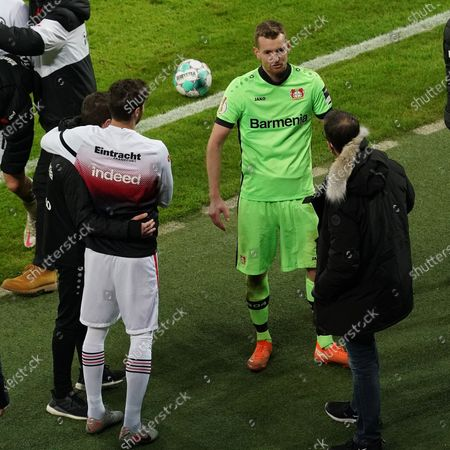 Lukas Hradecky (Leverkusen), Fredi Bobic (Frankfurt)