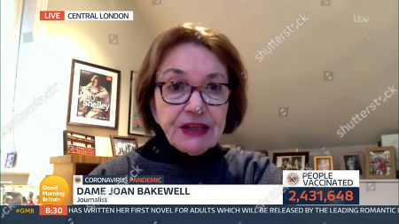 Editorial photo of 'Good Morning Britain' TV Show, London, UK - 13 Jan 2021