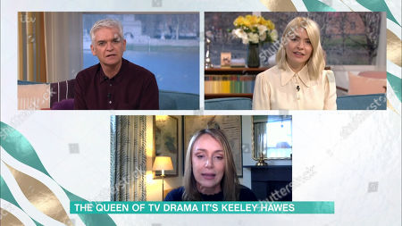 Phillip Schofield, Holly Willoughby and Keeley Hawes