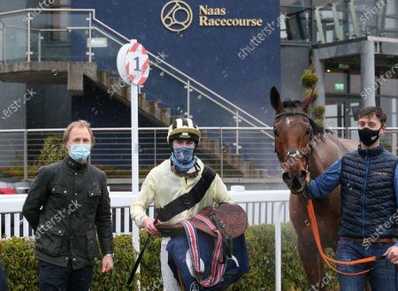 Editorial image of Naas Racing, Naas Racecourse, Co. Kildare - 13 Jan 2021