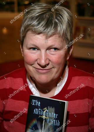 Editorial image of Fil Reid Promoting Her New Childrens Book 'The Midwinter Child', Waterstones, Reading, Britain - 16 Apr 2010