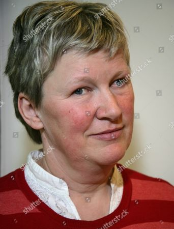 Editorial photo of Fil Reid Promoting Her New Childrens Book 'The Midwinter Child', Waterstones, Reading, Britain - 16 Apr 2010