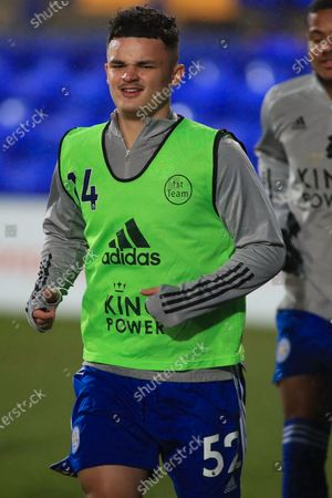 Editorial picture of Tranmere Rovers v U21 Leicester City, EFL Trophy - 13 Jan 2021