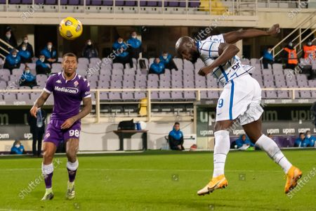 Editorial photo of Soccer: Serie A 2020-2021 Tim Cup : Fiorentina 1- 2 (d.t.s.) Inter, Firenze, Italy - 13 Jan 2021