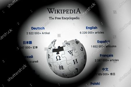 A close-up image shows the front page of the Wikipedia online encyclopedia on a mobile computer, in Cologne, Germany, 13 January 2021. The online encyclopedia Wikipedia was launched on 15 January 2001 by co-founder Jimmy Wales and is now one of the most visited website on the Internet. There are articles in around 300 languages, its service is still non-commercial, and the non-profit organization is financed solely by donations. More than three million volunteers write, edit and check the articles. Wikipedia has become a kind of basic knowledge of the world.