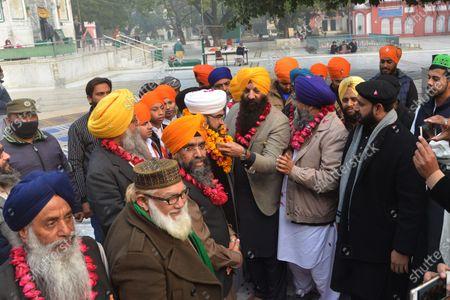 Editorial photo of The ceremony as Mian Mir Bala Pir Sarkar, Lahore, Punjab, Pakistan - 13 Jan 2021