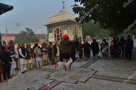 Editorial image of The ceremony as Mian Mir Bala Pir Sarkar, Lahore, Punjab, Pakistan - 13 Jan 2021