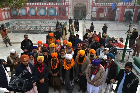 Editorial picture of The ceremony as Mian Mir Bala Pir Sarkar, Lahore, Punjab, Pakistan - 13 Jan 2021