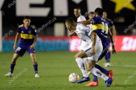 Editorial image of Argentina Soccer Copa Libertadores, Santos, Brazil - 13 Jan 2021
