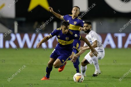 Editorial photo of Argentina Soccer Copa Libertadores, Santos, Brazil - 13 Jan 2021