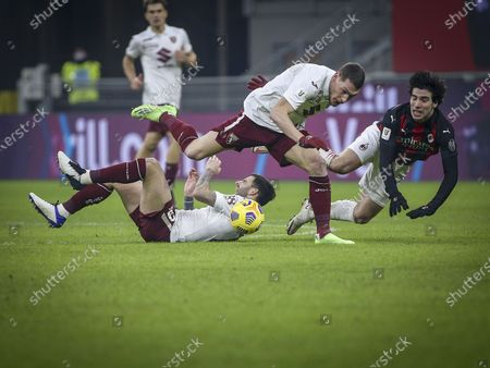 Editorial picture of AC Milan vs Turin, Italian Serie A Football, Italy - 13 Jan 2021