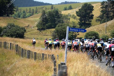 Editorial photo of NZ Cycle Classic Stage Two, Cycling, New Zealand - 14 Jan 2021