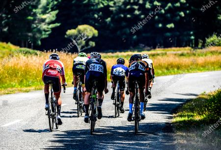 Stock Image of Masterton-Alfredton road circuit - Stage Two of 2021 NZ Cycle Classic UCI Oceania Tour in Wairarapa, New Zealand on Wednesday, 13 January 2021.