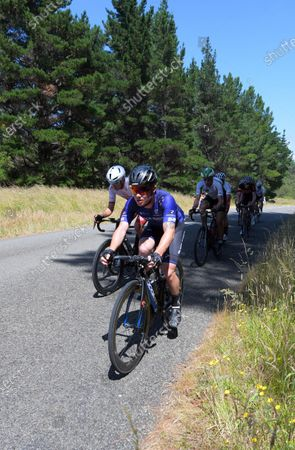 Luke Mudgway (Black Spoke). Masterton-Alfredton road circuit - Stage Two of 2021 NZ Cycle Classic UCI Oceania Tour in Wairarapa, New Zealand on Wednesday, 13 January 2021.
