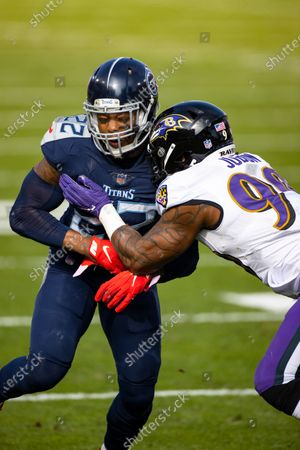 Editorial picture of Ravens Titans Football, Nashville, United States - 10 Jan 2021