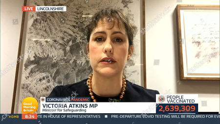 Stock Image of Victoria Atkins