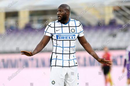 Romelu Lukaku of FC Internazionale in action