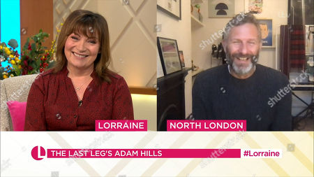 Editorial picture of 'Lorraine' TV Show, London, UK - 14 Jan 2021