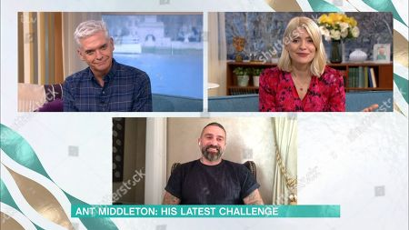 Phillip Schofield, Holly Willoughby and Ant Middleton