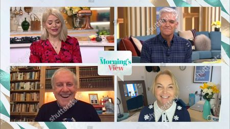 Holly Willoughby, Phillip Schofield, Gyles Brandreth and India Willoughby