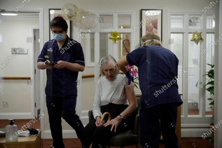 Editorial photo of Virus Outbreak Nursing Home, London, United Kingdom - 13 Jan 2021