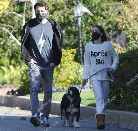 Editorial picture of Ben Affleck out and about, Pacific Palisades, Los Angeles, California, USA - 09 Jan 2021