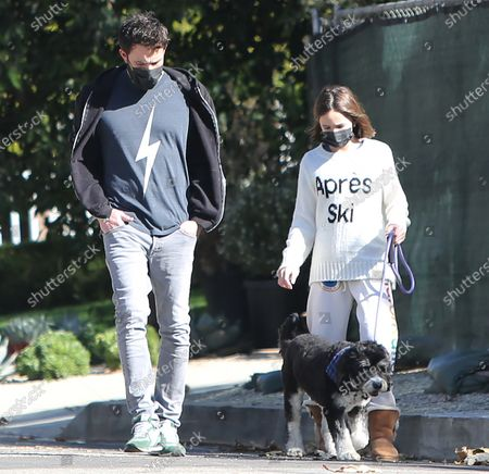 Editorial photo of Ben Affleck out and about, Pacific Palisades, Los Angeles, California, USA - 09 Jan 2021