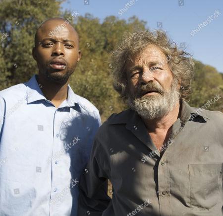 Thapelo Mokoena and Deon Stewardson