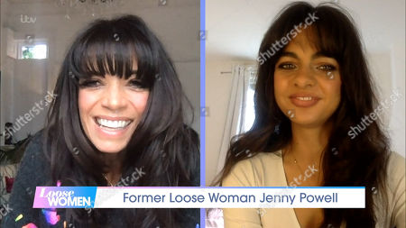 Stock Picture of Jenny Powell and Connie Baxendale
