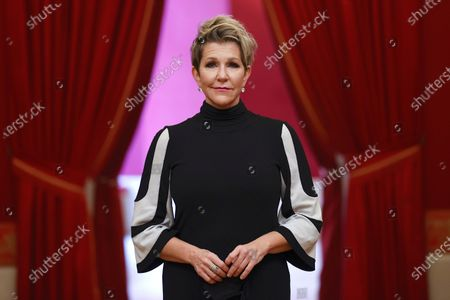 Stock Picture of US mezzosoprano Joyce DiDonato poses for the photographers during the presentation of Opera Stars Festival at the Royal Opera House, in Madrid, Spain, 14 January 2021. The festival runs until 15 January 2021.