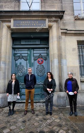 Editorial image of Four NGOs at the initiative of 'L'Affaire du Siecle' - legal action against the state's climate inaction, Paris, France - 14 Jan 2021