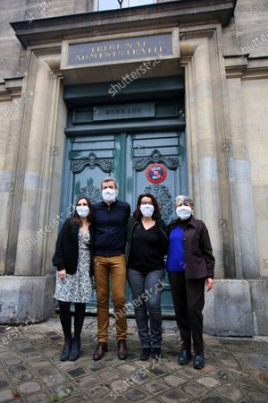 Editorial picture of Four NGOs at the initiative of 'L'Affaire du Siecle' - legal action against the state's climate inaction, Paris, France - 14 Jan 2021