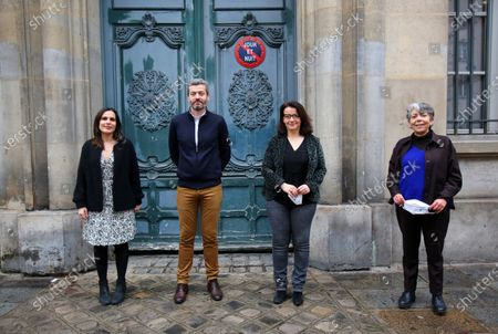 Editorial photo of Four NGOs at the initiative of 'L'Affaire du Siecle' - legal action against the state's climate inaction, Paris, France - 14 Jan 2021