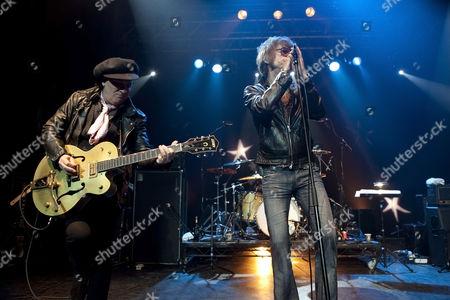The New York Dolls - Sylvain Sylvain and David Johansen