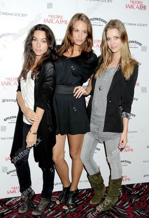 Emily Wilson, Jade Foret and Jessica Shelton