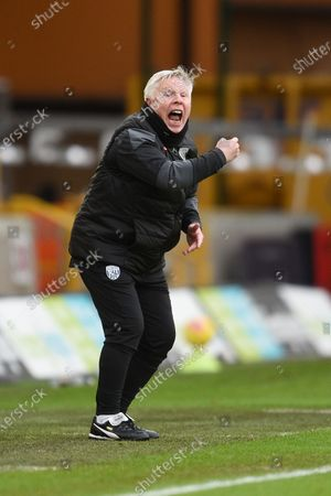 Stock Photo of Sammy Lee of West Bromwich Albion reacts.