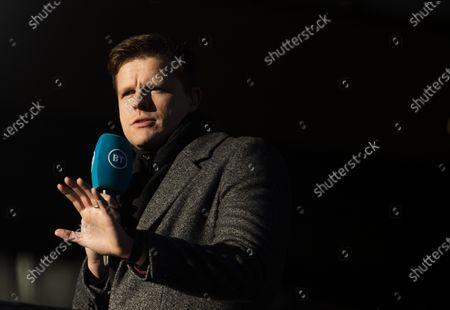 Jake Humphrey presenter for BT Sport.