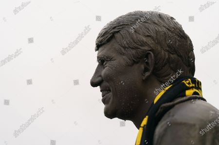 Stock Photo of The Graham Taylor Memorial Statue outside of Vicarage Road